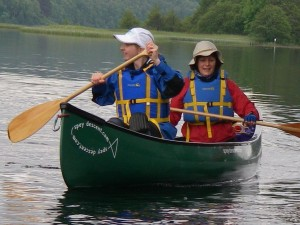 Ladies Canoe Loch Insh, River Spey