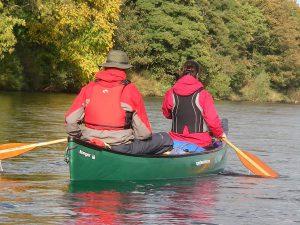 Canoe Fochabers River Spey, Moray