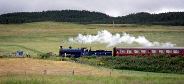Stream Railway, Speyside, Scotland